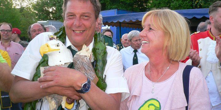 Heinz Frütel ist König 2018 in Baerl